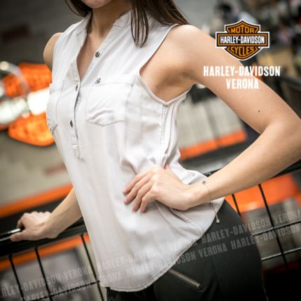 Camicia Senza Maniche Harley-Davidson® Pocket