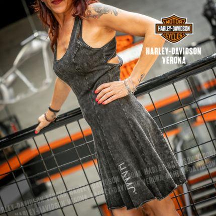 Vestito Harley-Davidson® Back Strap Snow Wash