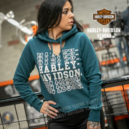 Felpa Harley-Davidson® Hoodie-Cut