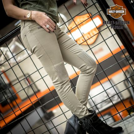 Moto-Inspired Skinny Pant