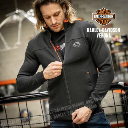 Felpa Harley-Davidson® Black&Orange