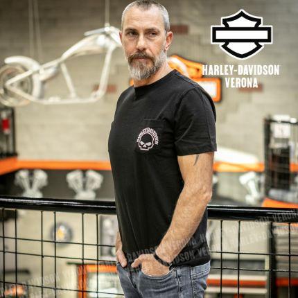 T-Shirt Harley-Davidson® Skull Pocket