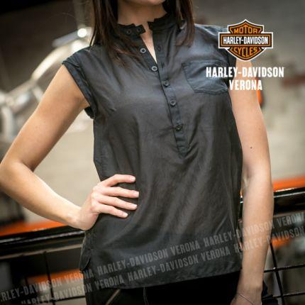 Camicia da Donna Harley-Davidson® Black