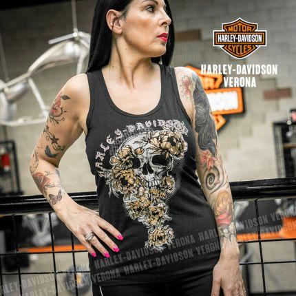 Canotta Harley-Davidson® Skull&Roses