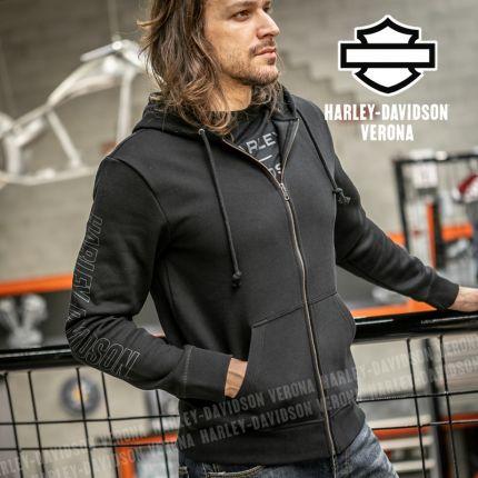 Felpa Harley-Davidson® #1 Logo Zip