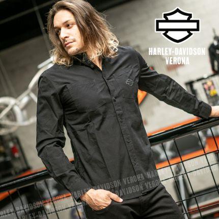 Camicia Harley-Davidson® Textured Woven