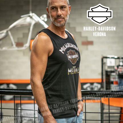Canotta da Uomo Harley-Davidson® Milwaukee Metal