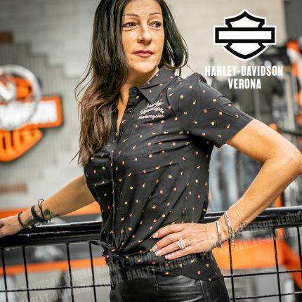 Camicia Harley-Davidson® Woven Print