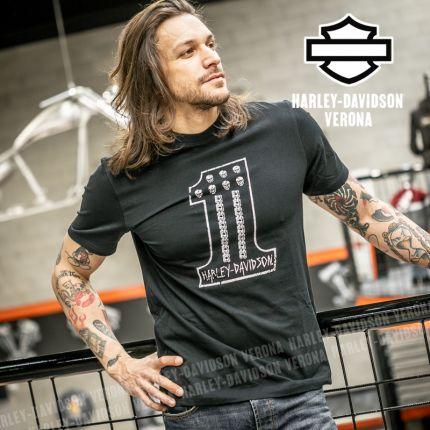 T-Shirt Harley-Davidson® Mini Skull #1