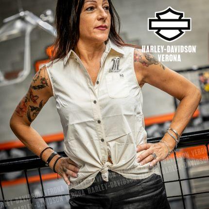 Camicia Harley-Davidson® Off-White