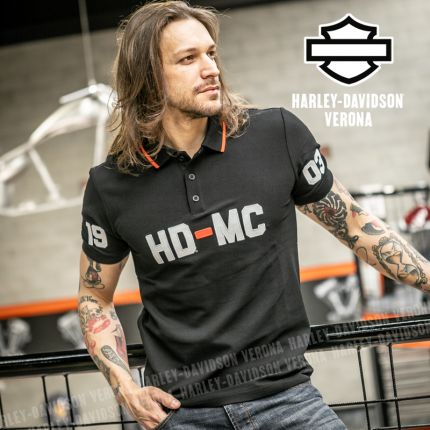 T-Shirt Polo Harley-Davidson® HD-MC 1903