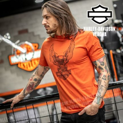 T-Shirt Harley-Davidson® Winged Eagle Logo