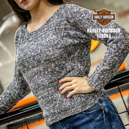 Maglione ricamato Harley-Davidson®