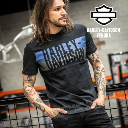 T-Shirt Harley-Davidson® Block Letter Logo