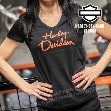 T-Shirt Harley-Davidson® Script Graphic