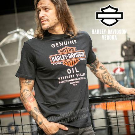 T-Shirt Harley-Davidson® Genuine Oil black