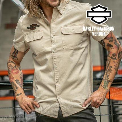 Camicia Harley-Davidson® Laser Cut Jersey