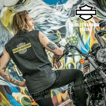 Camicia senza maniche Harley-Davidson® Blowout Grey