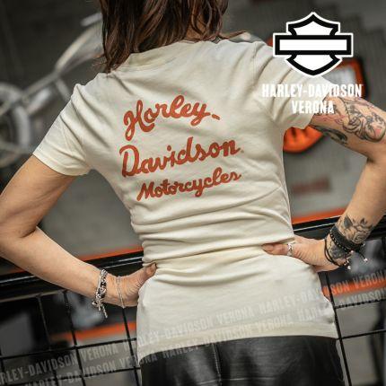 T-Shirt Harley-Davidson® Vintage Script