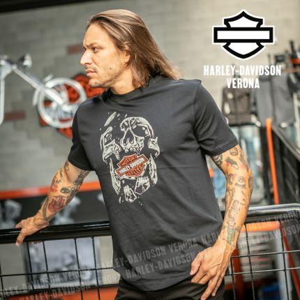 T-Shirt Harley-Davidson® Shattered Skull