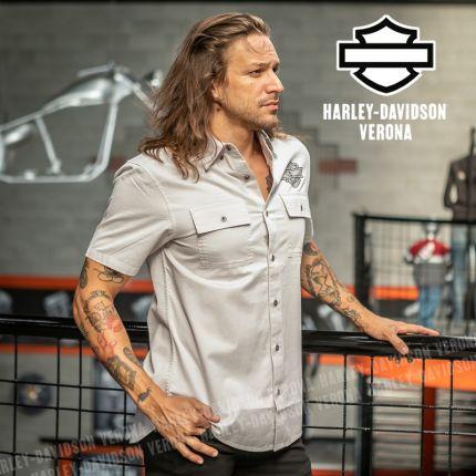 Camicia Harley-Davidson® Vertical Graphic