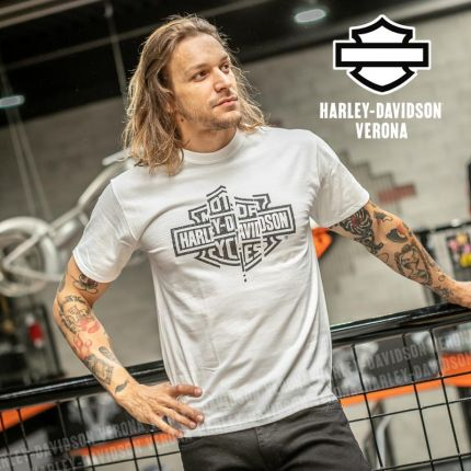 T-Shirt Harley-Davidson® Shredder White