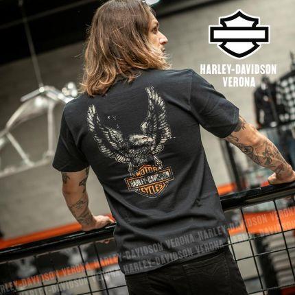 T-Shirt Harley-Davidson® Patina Eagle