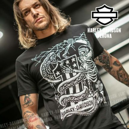 T-Shirt Harley-Davidson® Rusty Butcher Snake