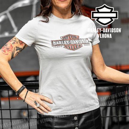 T-Shirt Harley-Davidson® Logo Grey