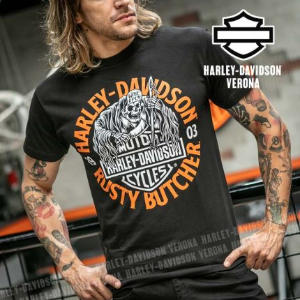 T-Shirt Harley-Davidson® Rusty Butcher Wide Open