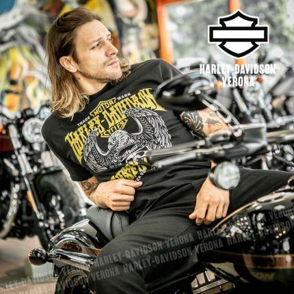 T-Shirt Harley-Davidson® Rusty Butcher Eagle