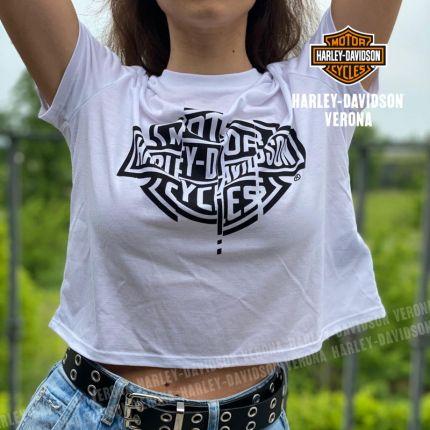 T-Shirt Harley-Davidson® Shredder Flowy Cropped