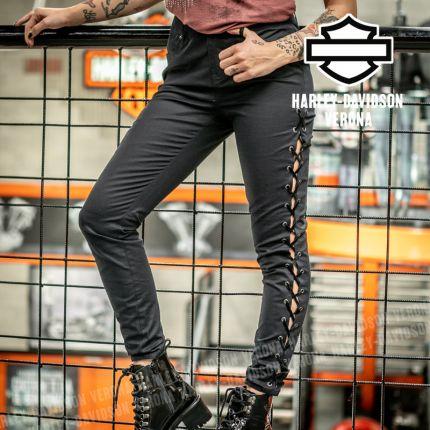 Pantaloni da Donna Harley-Davidson® con Laccetti