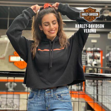 Felpa Harley-Davidson® Hyphen Cropped Hoodie