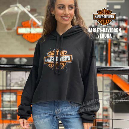 Felpa da Donna Harley-Davidson® Cropped Hoodie