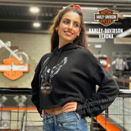 Felpa da Donna Harley-Davidson® Cropped Eagle