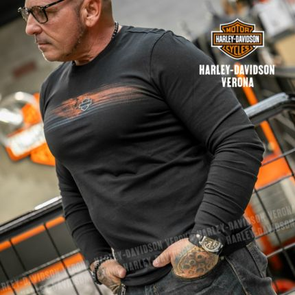 Maglia da Uomo Harley-Davidson® Tee ENGINE, Black