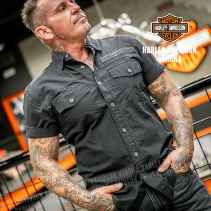 Camicia Uomo Harley-Davidson® Winged Skull