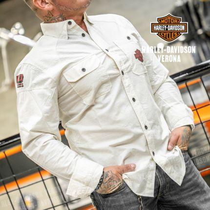 Camicia da Uomo Harley-Davidson® E. EAGLE PROFILE