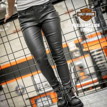 Pantaloni in pelle Harley Davidson® Stretch Skinny