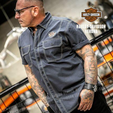 Camicia da Uomo Harley-Davidson® Denim Piston