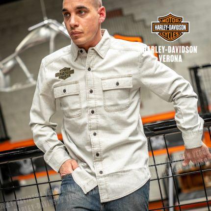 Camicia da Uomo Harley-Davidson® W. Chambray