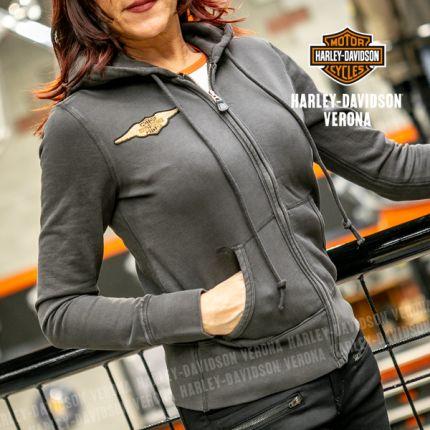 Felpa Donna Harley-Davidson® Felt Letter