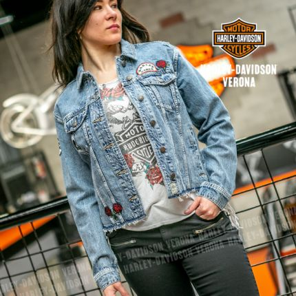 Giacca in Jeans Harley-Davidson® Roam Free