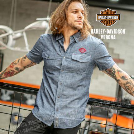 Camicia da Uomo Harley-Davidson® Emboidered