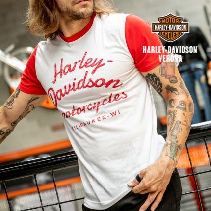 T-Shirt da Uomo Harley-Davidson® Reverse Printed