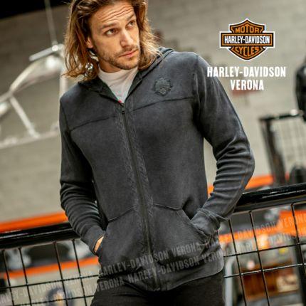 Felpa Harley-Davidson® Winged Skull Zip