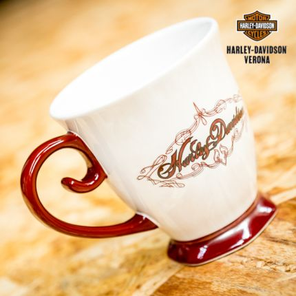 Scroll Handle Ceramic Mug