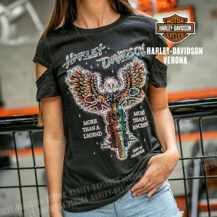T-Shirt da Donna Harley-Davidson® Cut Out