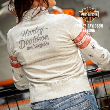 Felpa da Donna Harley-Davidson® Flag